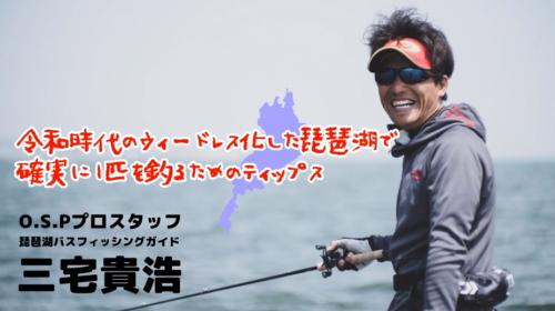 ウィードレス化した琵琶湖